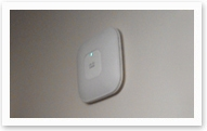 WiFi access point (Utility room) of the house wardrobe.
